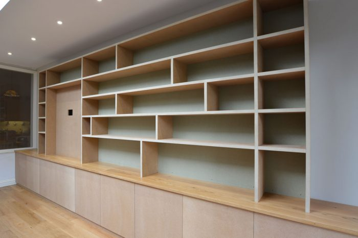 Bespoke Media Shelving