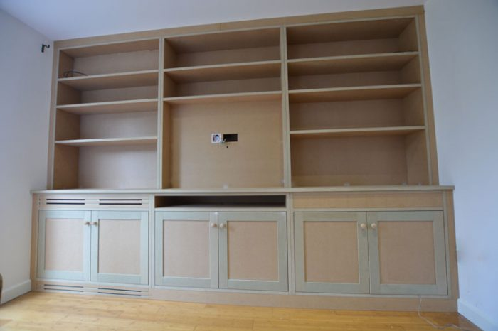 Bookcase shelves | Media Cabinet