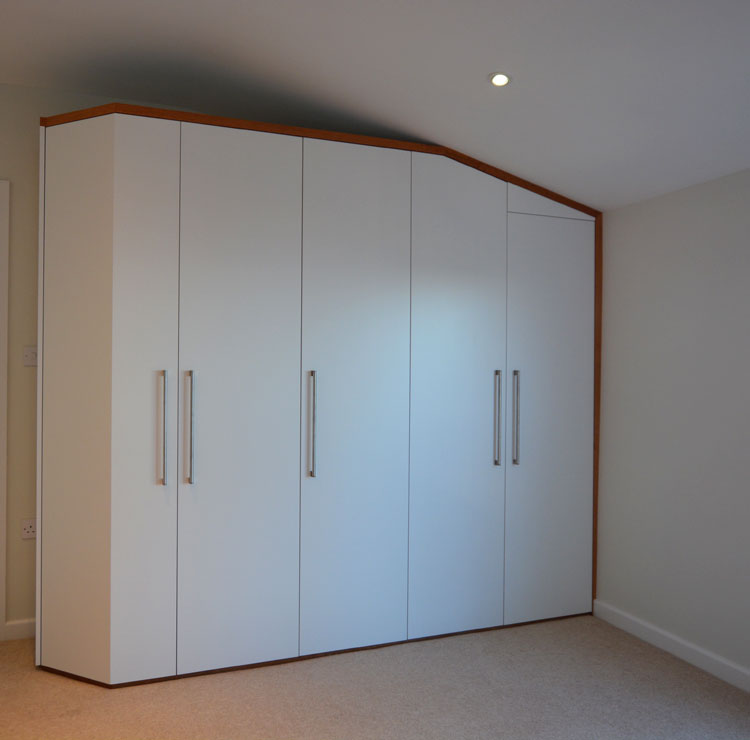 Cherrywood Trim Fitted Wardrobe Bristol
