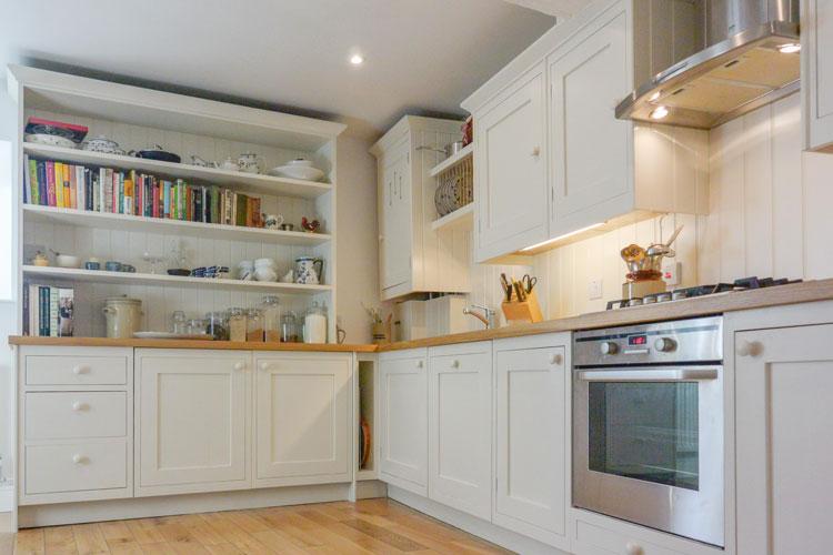 Framed shaker kitchen