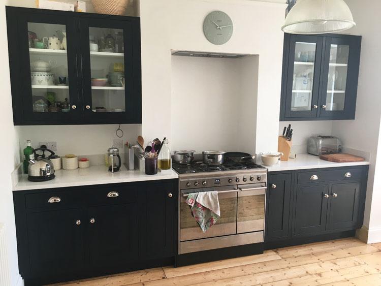 Shaker alcove kitchen