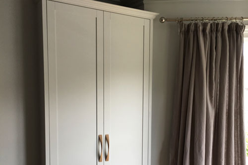 Shaker Panel fitted wardrobe Bristol