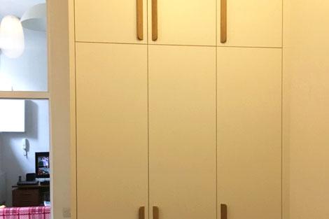 Extra tall wardrobe