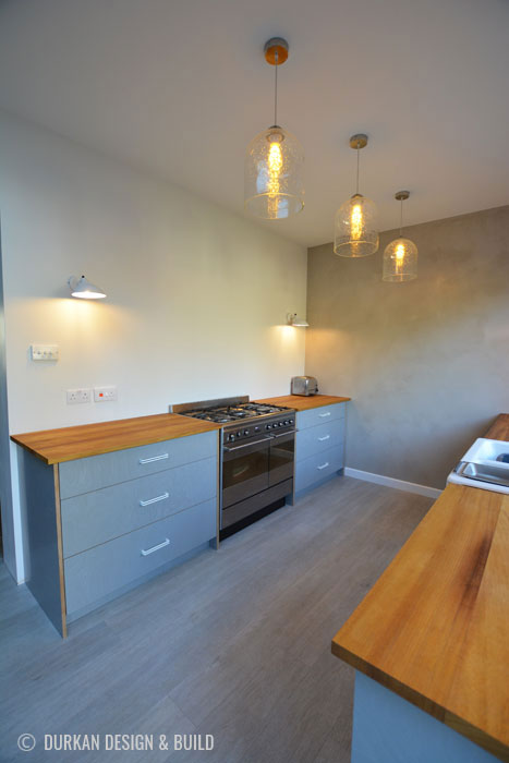 Plywood bespoke kitchen