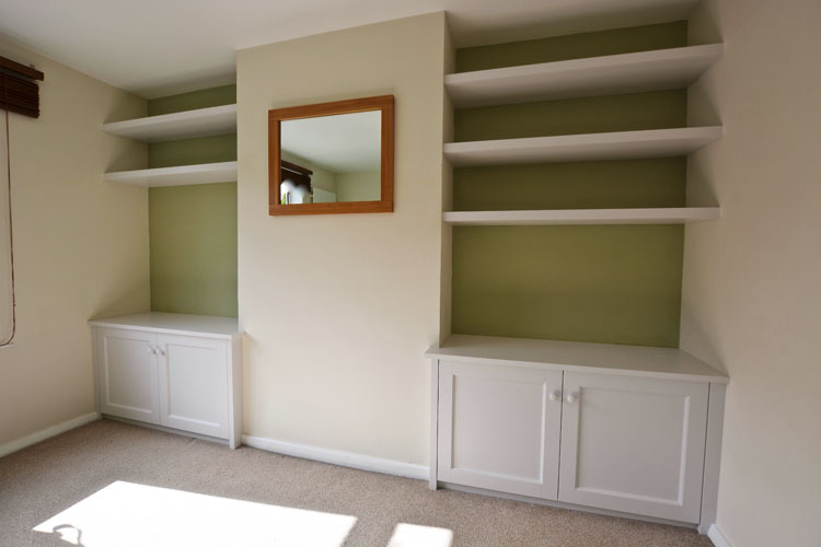 Alcove Shelving & Cupboards