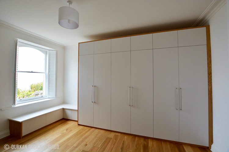Scandi design wardrobe