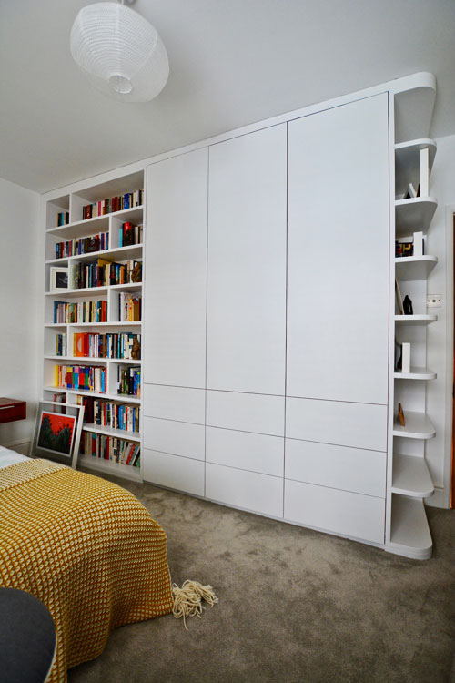 Bespoke fitted bedroom storage