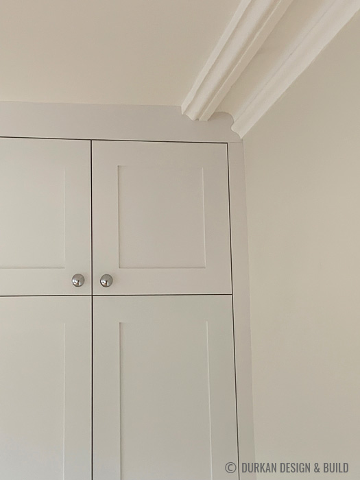 Classic shaker panel wardrobes