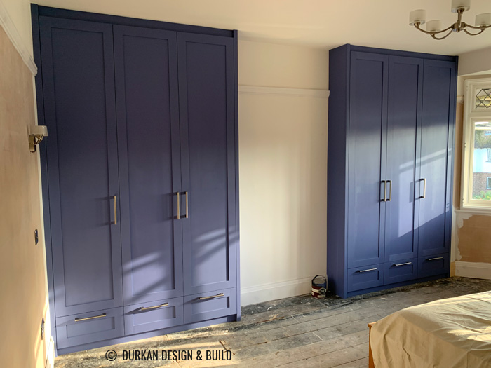 Classic fitted wardrobes