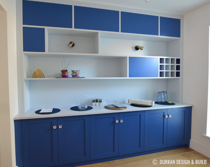 Dining room cupboards