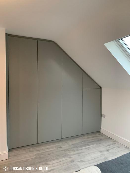 Loft conversion wardrobes