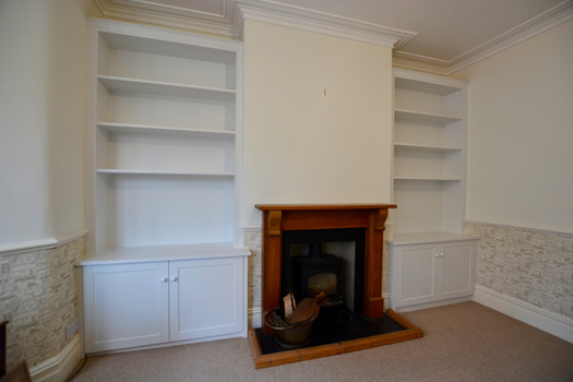 Fitted Alcove Cupboards