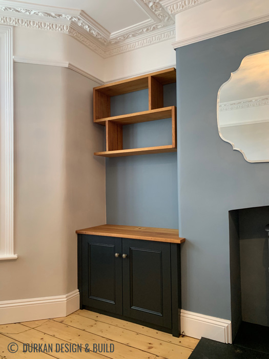 Alcove Cupboards & Shelves