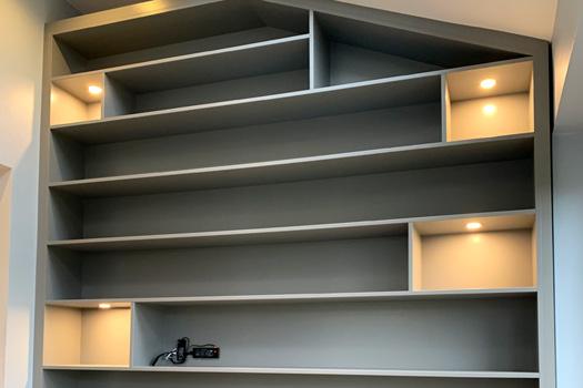 Bespoke Book shelves
